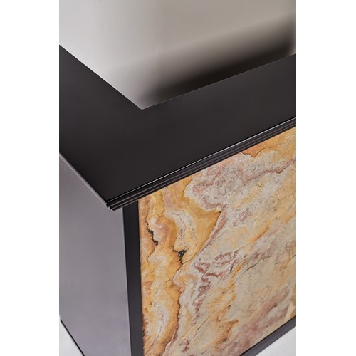 Stone Reception Desk 71
